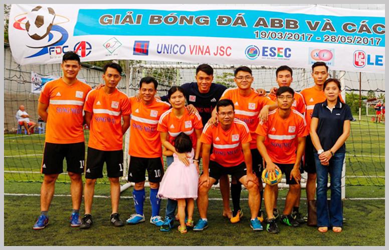 Giải bóng đá ABB và các đối tác