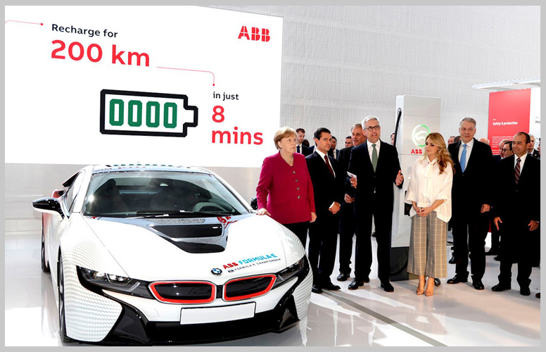 Country leaders impressed by ABB's breakthrough e-mobility technologies