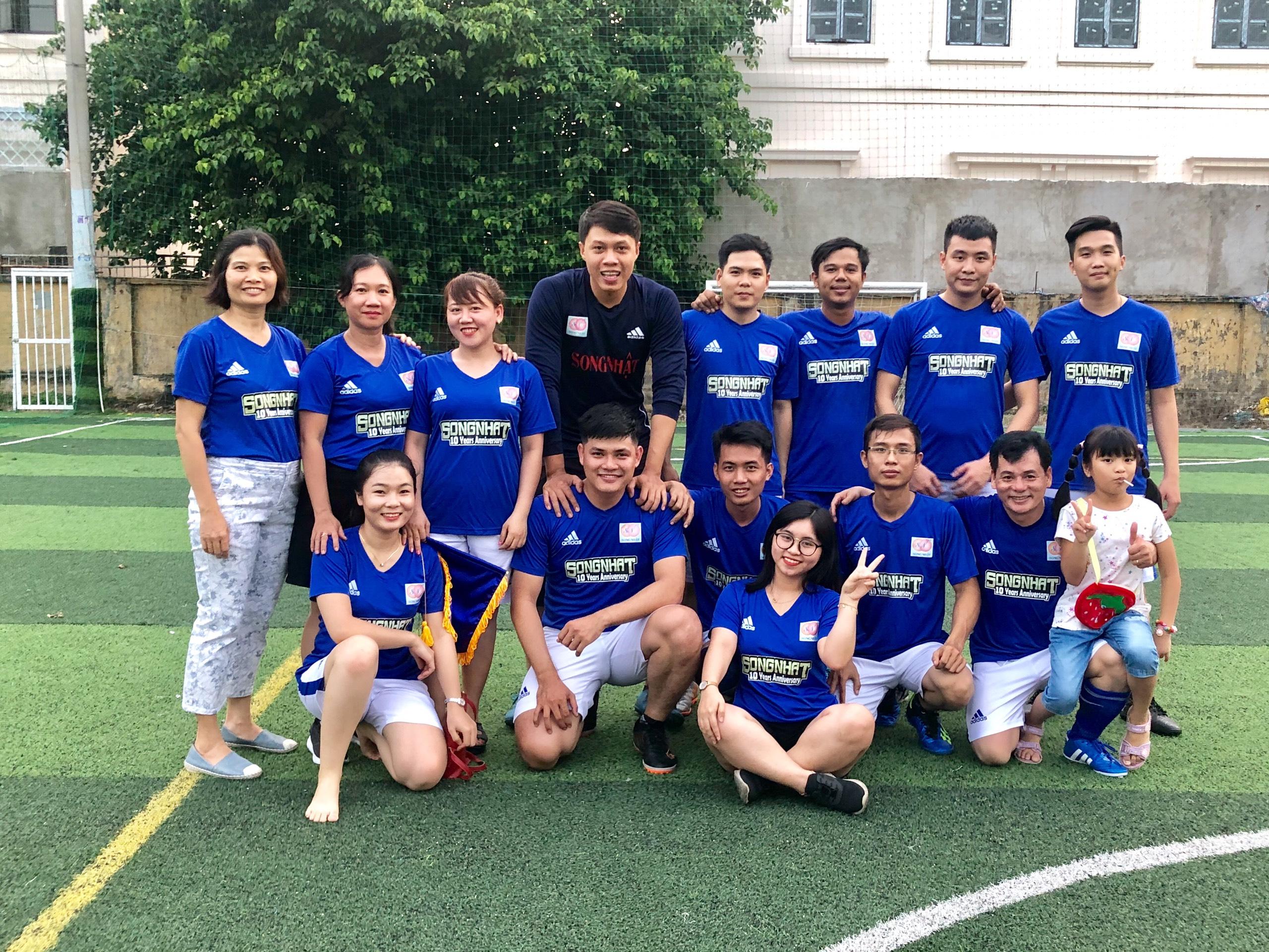 Giải bóng đá giao hữu Song Nhật và các đối tác